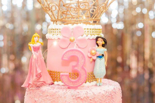 princess cake topper